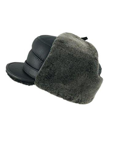 zavelio-homme-peau-de-mouton-elmer-fudd-capitaine-visiere-fourrure-chapeau-ski-neige-medium-black