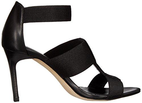 Elie Tahari Seneca Leder Sandale Black/Black