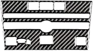 Carbon Fiber CD Panel Frame Cover Trim For Infiniti Q50 V37 2014+ Car Interior DecorationCar Interior Decorati
