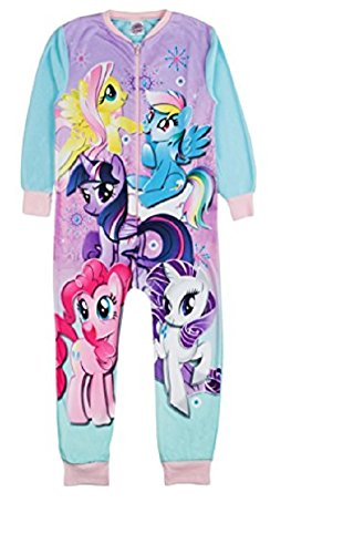 Various -  pigiama intero  - maniche lunghe  - ragazza my little pony - 5 character 5-6 anni