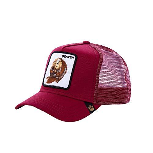 Goorin Bros. Herren Baseball Cap Gr. Einheitsgröße, Beaver Bordeaux