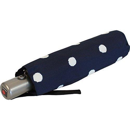 knirps-regenschirm-slim-duomatic-klein-und-leicht-mit-auf-zu-automatik-dot-art-navy