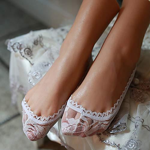 Erweiterte Simulation Weibliche Füße Silikon Füße Modell Schaufensterpuppe mit Nagel Sammeln von Spielzeug-manuelle Anpassung-37 Größe - Geschenk: EIN Passwort-Box,Flesh,Leftfoot