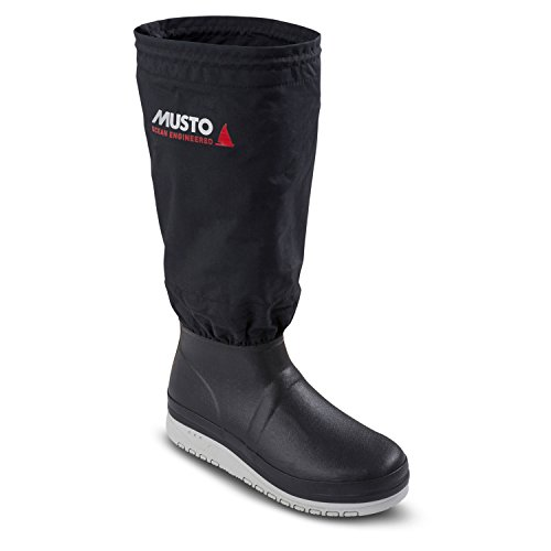 Musto Southern Ocean Boot Black-10 - UK (Deck Tread)