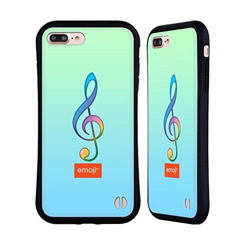 Ufficiale Emoji Vita Musica Case Ibrida per Apple iPhone X Chiave G