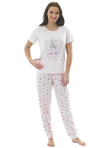 Indigo Sky - Ensemble de pyjama - Femme Multicolore pink icecream Multicolore - pink icecream
