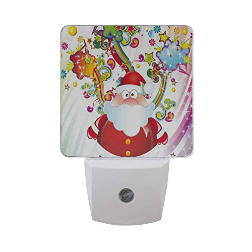 ristmas Santa Claus Led Light Lamp for Hallway, Kitchen, Bathroom, Bedroom, Stairs, DaylightWhite, Bedroom, Compact ()
