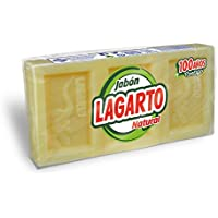 Lagarto Jabón Natural - Paquete de 20 x 3 x 100 gr - Total: 6000 gr