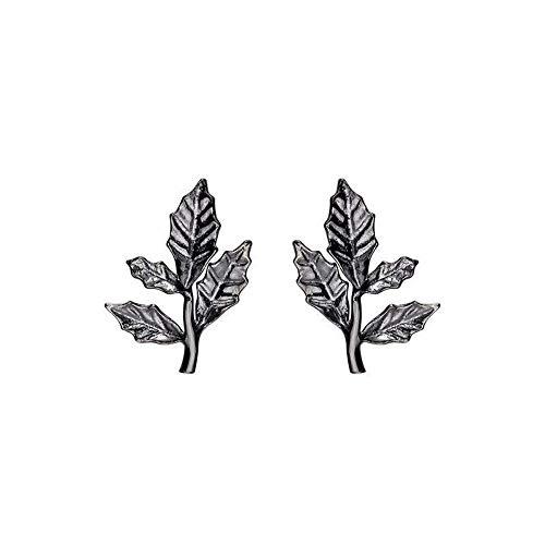 Ohrringe S925 Sterling Silber Blätter Rebe Ohrringe Temperament wild Sen Original Ohrringe weibliche Allergie Silber Schmuck weiblich