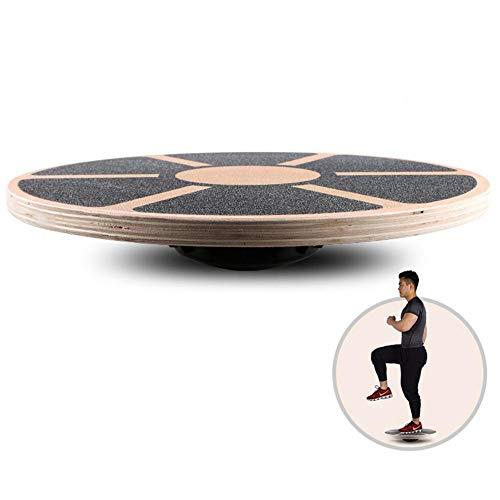 J&Z Balance-Board, Therapie Gyro Für Physiotherapie, Durchmesser 39Cm, Non-Slip Bottom und Top, Equilibrium Board, Wobble Board,