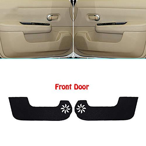 LUVCARPB 4 Stück Auto Innentür Abdeckung Kratzschutz Anti Kick dekorative Pads Auto Aufkleber, fit für Nissan Tiida (Nissan Tiida Teile)