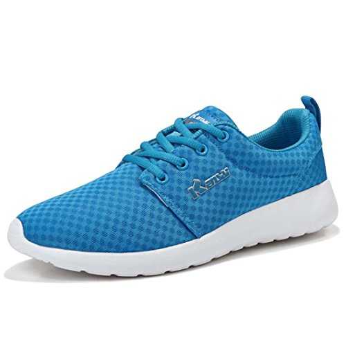 Men's Mesh High Quality Breathable Running Shoes 1601 blue