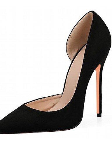 WSS 2016 Chaussures Femme-Mariage / Bureau & Travail / Habillé / Décontracté / Soirée & Evénement-Noir / Rouge / Gris / Bordeaux-Talon Aiguille- burgundy-us6 / eu36 / uk4 / cn36