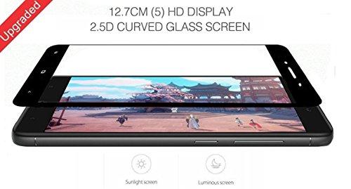 promo code 2c122 3e63b Redmi 4 Tempered Glass, Case U Xiaomi Redmi Note 4 Full Coverage Tempered  Glass Screen Protector