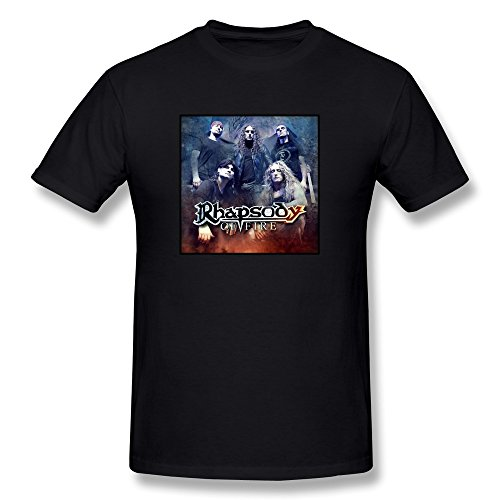mens-rhapsody-of-fire-t-shirt-black