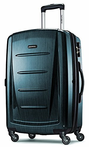 Teal: Samsonite Luggage Winfield 2 Fashion HS Spinner 24