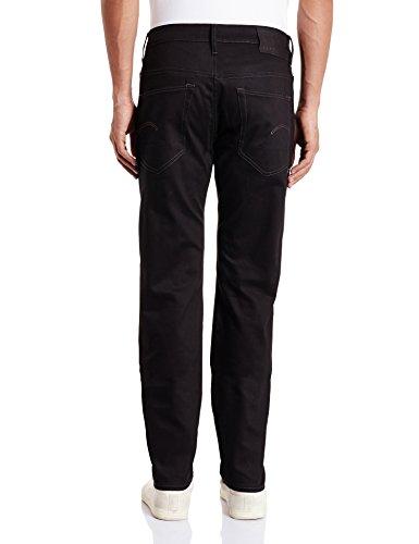 G-Star 3301 Slim-Accel Stretch Denim, jeans Homme Noir (Black Raw 6245-001)