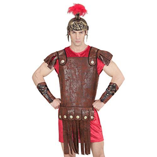 Amakando Armure Originale Spartacus Antique / Marron / Déguisement Grec Aspect Cuir / Convient Parfaitement pour Carnaval & soirée à thème