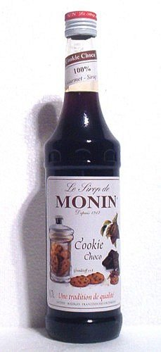 Monin Sirup Cookie-Choco 0,7l (Cookie-eis)