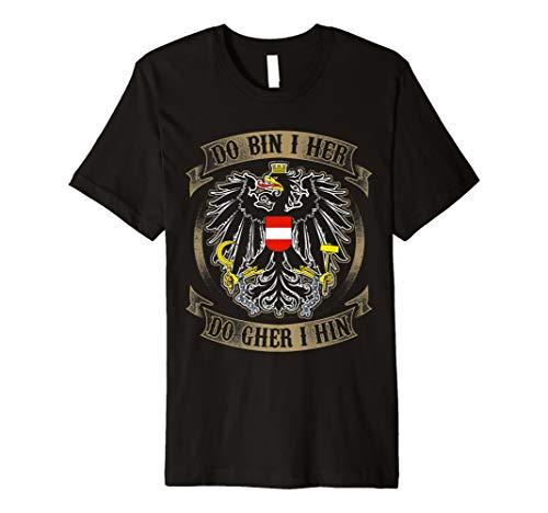 Österreich-Do bin i her Shirt