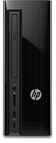 HP Slimline (260-a152ng) Desktop PC (AMD Quad-Core A6-7310 APU, 8 GB RAM, 1 TB HDD, AMD Radeon R4, Windows 10 Home 64) Schwarz