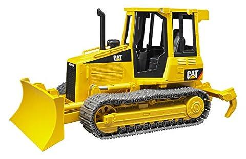 BRUDER - 02443 - Bulldozer CATERPILLAR - Jaune