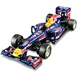 Bburago - Coche Formula 1 Red Bull, escala 1:32, color azul (18-41202)
