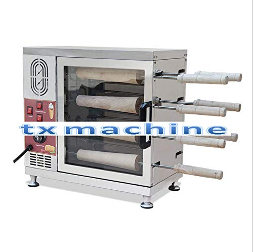 TX® máquina de helado eléctrica de acero inoxidable kurtos Kalacs...