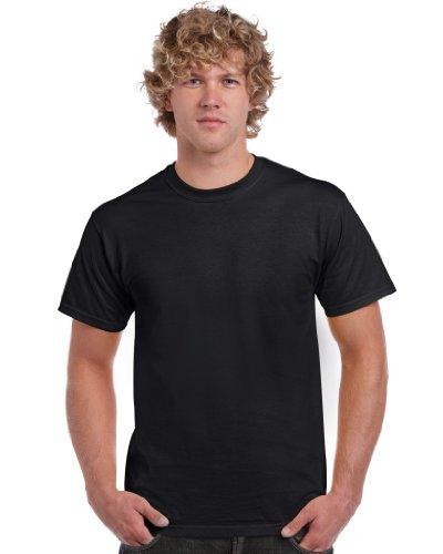 Ultra Cotton Classic Fit Adult T-Shirt - Farbe: Black - Größe: L (Tight Shirt Fit L/s)