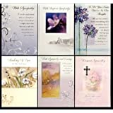 With Deepest Sympathy Cards Pk12