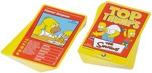 **Simpsons Top Trumps (12) Carte a Jouer