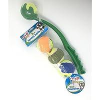 Home Master Lanzador de pelotas de tenis para mascotas (3 unidades)