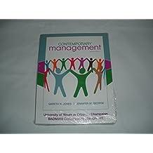 Contemporary Management (University of Illinois at Urbana-Champaign Edition) by Gareth R. Jones; Jennifer M. George (2011-07-30)