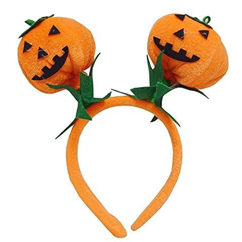 Bornbay Halloween Mädchen Kürbis Stirnband Maskerade Hexen Kopf Ring Kopf tragen Kinder Kinder (Baby-kürbis-kostüm Uk)