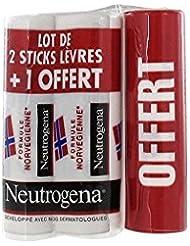 Neutrogena Stick Lèvres Lot de 2 + 1 Offert