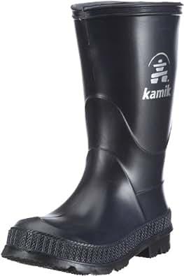 Kamik Stomp EK-   Unisex-Kinder Gummistiefel, Blau (NAK_NAVY/BLACK SOLE), 22 EU