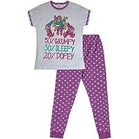 Disney Snow White Seven Dwarfs 50% Grumpy Ladies Long Cotton Pyjamas