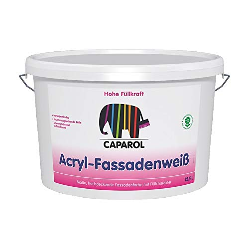 Fassadenfarbe Acryl Fassadenweiß weiss 5l