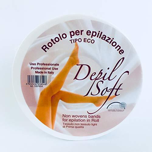 Ro.ial Enthaarungsstreifen Vliesrolle für die Haarentfernung - 100 Meter - Made in Italien !