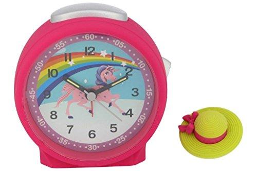 Niños Despertador Unicornio Reloj analógico niña