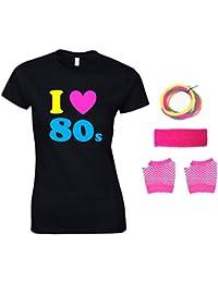 Direct 23 Ltd I Love The 80s Ladies T-Shirt & accessories