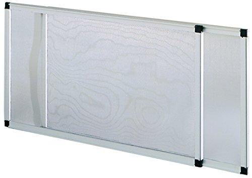 Blinky 75005 Fliegengitter, ausziehbar, eloxiert, Höhe 50 x 40 cm
