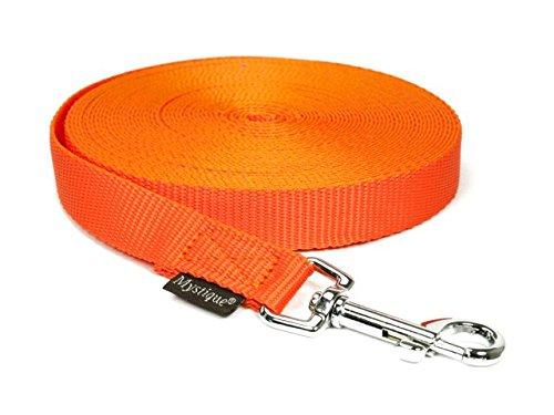 Mystique Nylon Schleppleine 20mm neon orange 20m mit HS