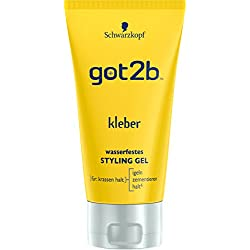 Got2b Gomina resistente al agua, 3 recipientes de 150 ml