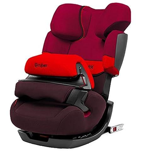 Cybex Silver Pallas-fix, Autositz Gruppe 1/2/3 (9-36 kg), Rumba Red,