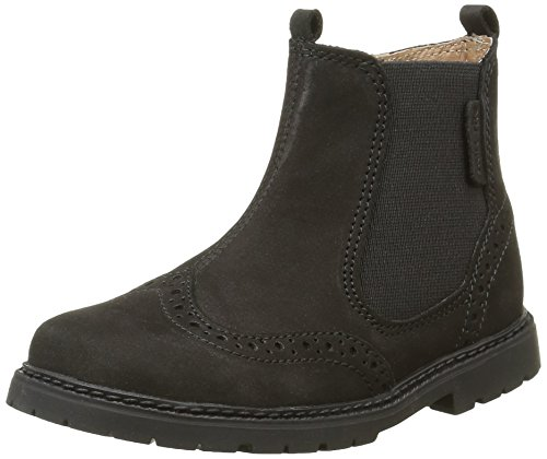 Start RiteDigby - Stivali classici alla caviglia Bambino , nero (Noir (Black Waxy)), 28 EU