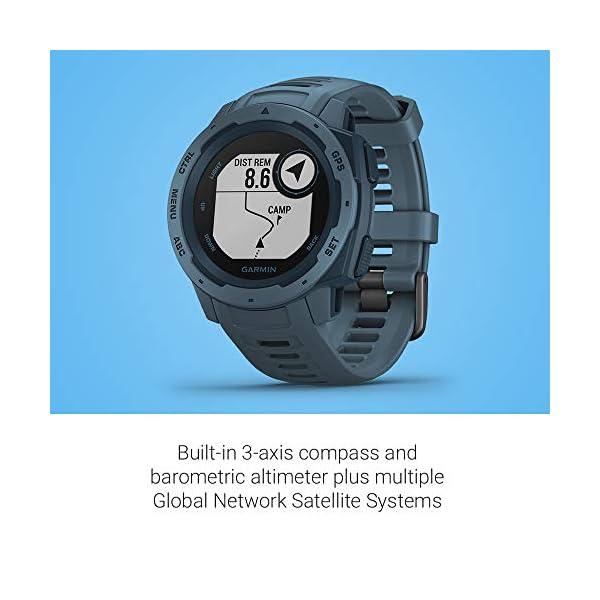 Garmin Instinct – Reloj con GPS, Unisex, Azul, 1