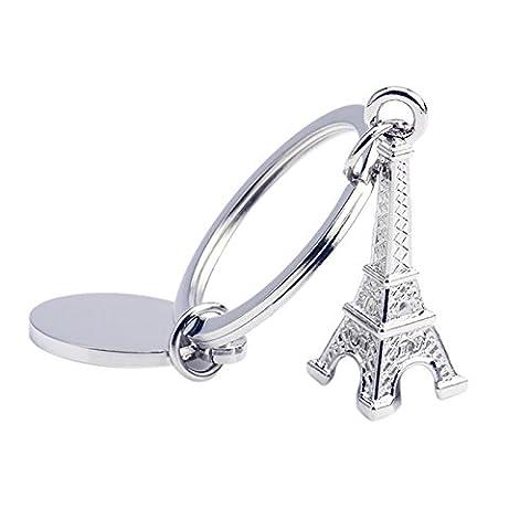 Wetrys 1 Pcs Cute Retro Mini Paris Eiffel Tower Model