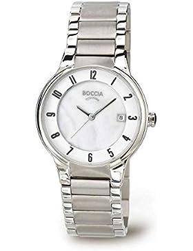 Boccia Damen-Armbanduhr XS Analog Quarz Titan 3228-01