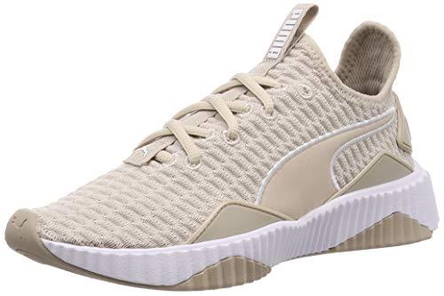 Puma Defy Wn's, Damen Hallenschuhe, Grau (Silver Gray-Puma White), 38 EU ( UK)